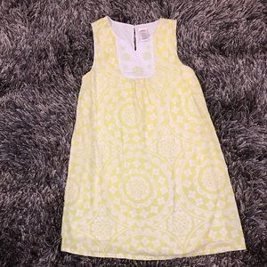 🌟GYMBOREE🌟size 8 yellow/white summer dress